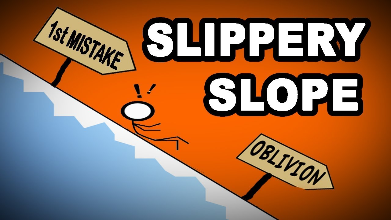 Image result for slippery slope