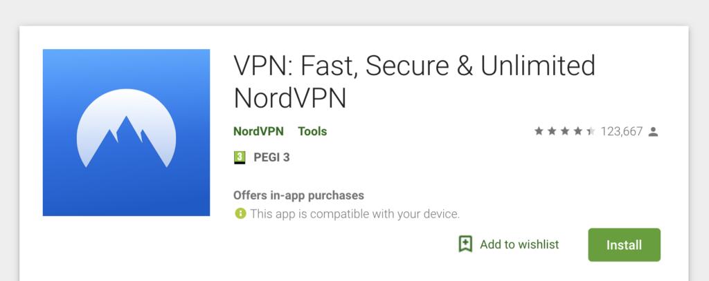 vpn for android Nordvpn