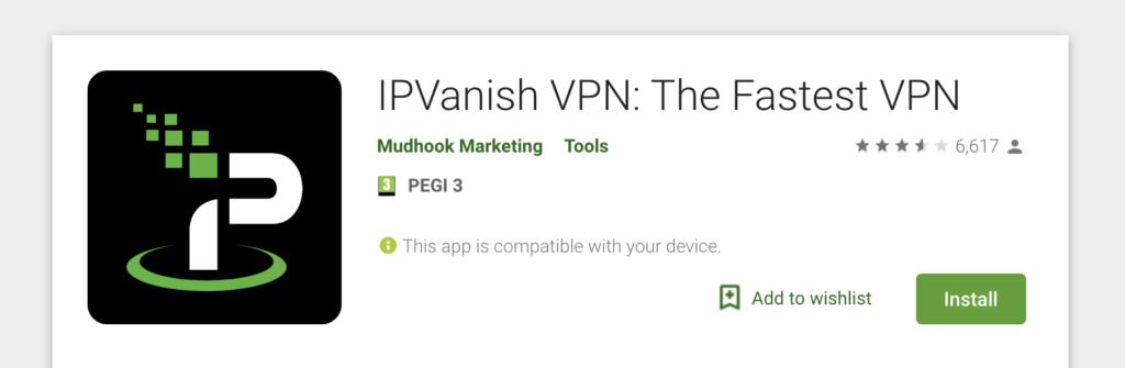 vpn for android IPVanish