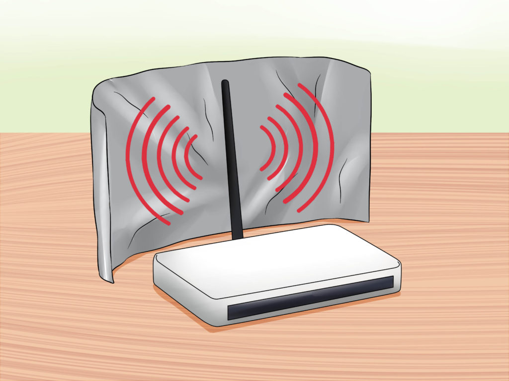 boost your wifi signal aluminum foil