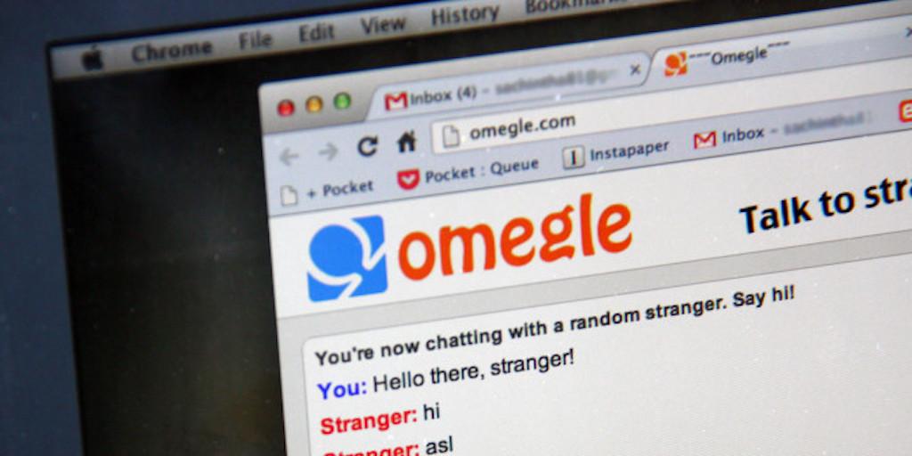 Screenshot of Omegle